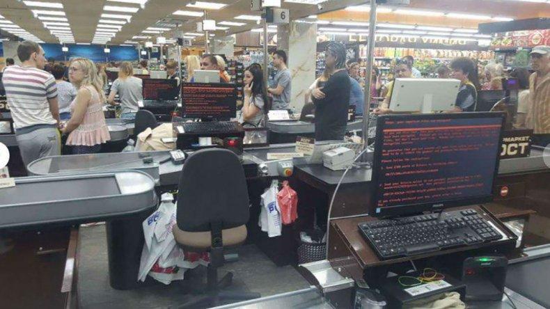 Supermercado en Kiev