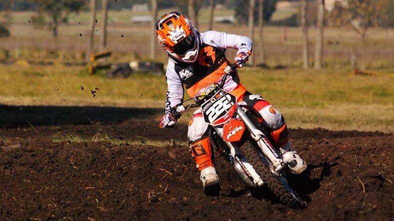 Tomás Brazao viene de ganar en el MX del Norte y en el MX Patagonia.