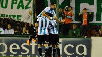 Racing viene de derrotar a Banfield en el torneo local y así clasificó a la Copa Libertadores 2018.