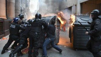 liberaron a todos los detenidos durante la represion en la 9 de julio