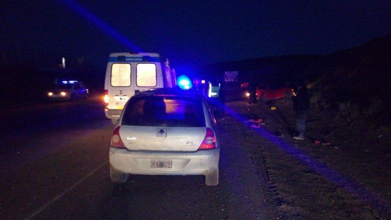 Accidente sin heridos en el camino Roque González