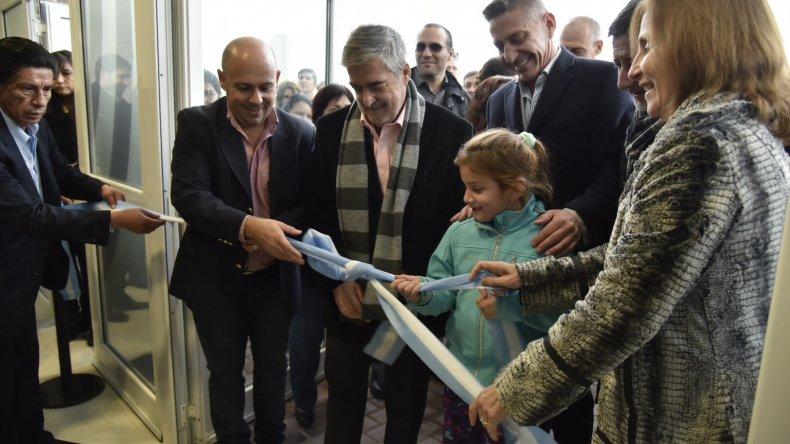 Das Neves inauguró la nueva sede de la Universidad del Chubut en Puerto Madryn
