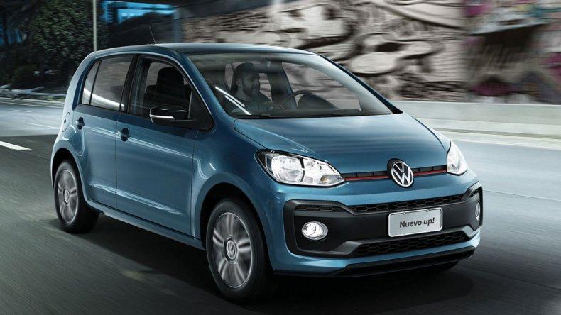 El renovado Volkswagen Up!