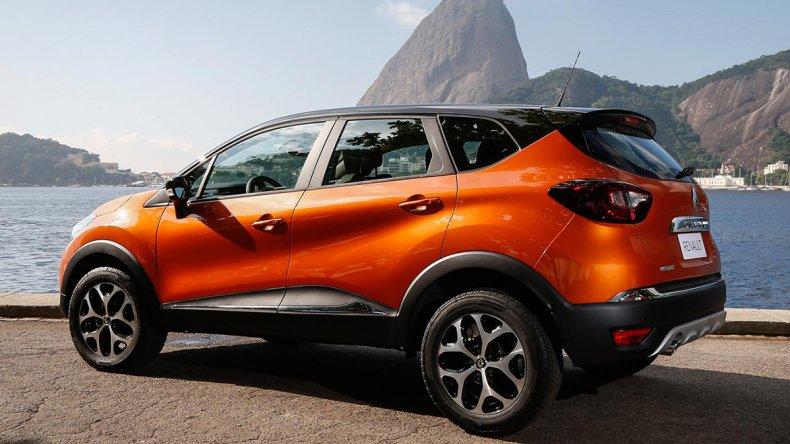 El Renault Captur sumó la caja CVT