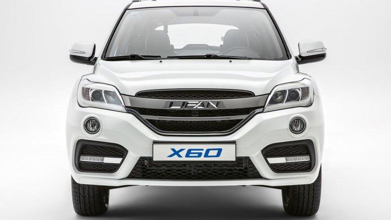 Lifan X60, con nueva cara y más en Argentina