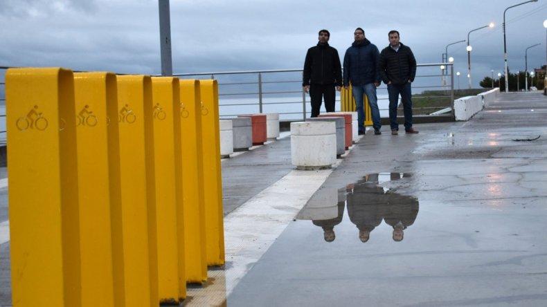 En el paseo de la costanera se inaugurarán obras de reparación