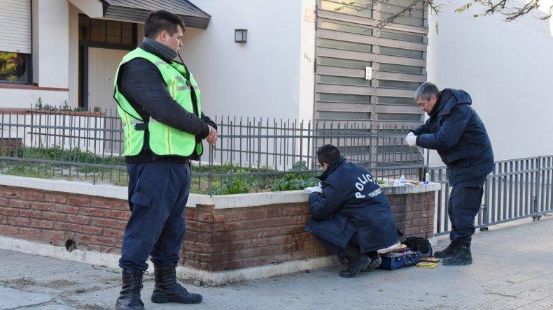 Los peritajes realizados por la policía en Alsina y Venter durante la mañana del asesinato de Sánchez.
