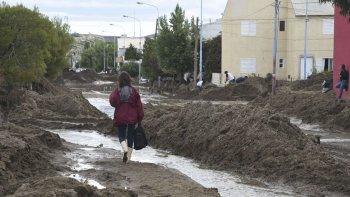 Los efectos del temporal fueron devastadores en barrios como el Juan XXIII y alrededores.