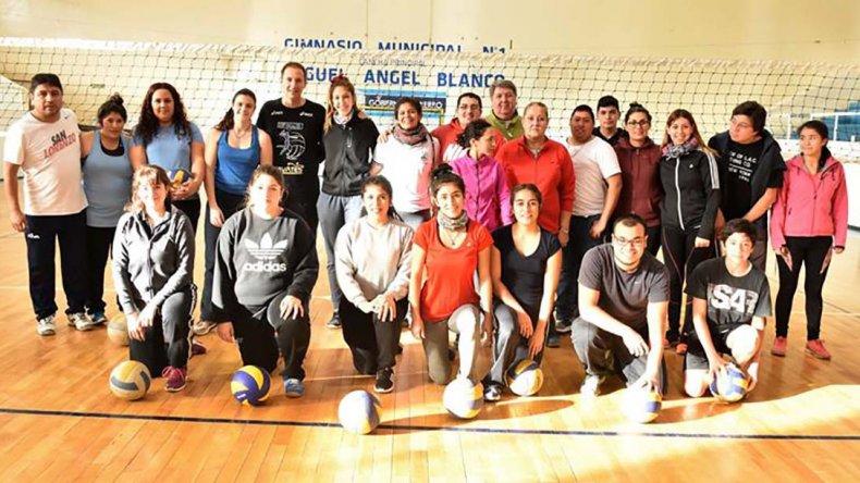 La capacitación se realizó el último sábado y participaron 21 asistentes.