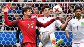 En tiempo suplementario recién pudo ponerse en ventaja Portugal frente a México.
