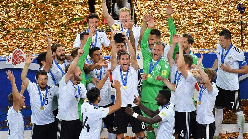 Alemania se quedó con la Copa Confederaciones y fue un justo ganador.