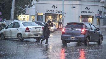 el servicio meteorologico lanzo un alerta por lluvias