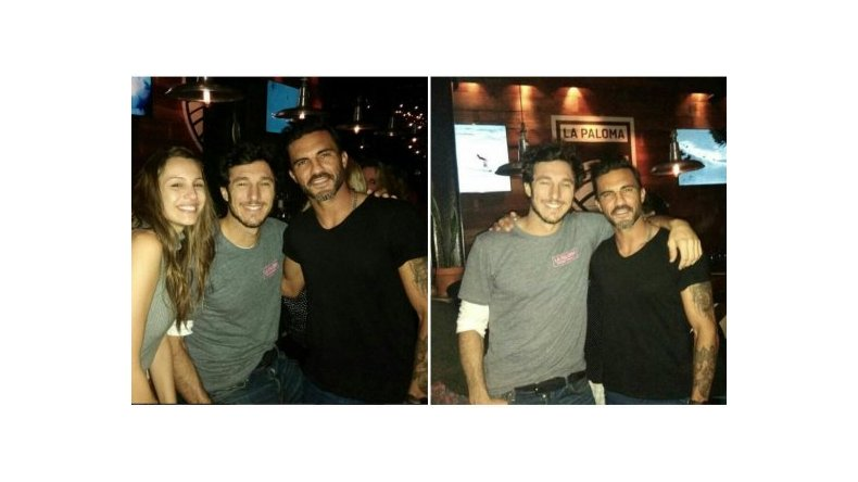 Fabián Cubero salió de noche con Pampita y Pico Mónaco