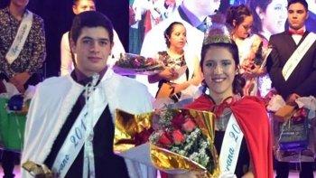 Brian Saldivia y Manuela Díaz, fueron electos como los jóvenes soberanos de Cañadón Seco, en la velada de gala que marcó el fin de los festejos alusivos al 73° aniversario de la localidad.