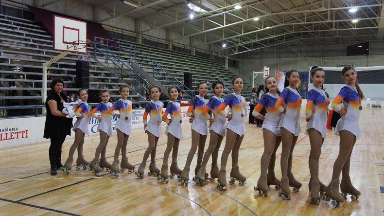 Las patinadoras de la CAI se lucieron en Cipolletti y tendrán rodaje nacional.
