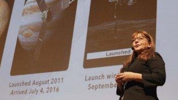 La geóloga planetaria de la NASA, Adriana Ocampo, lidera la misión del asteroide 2014MU69. El miércoles brindará una charla al respecto en la UNPSJB.