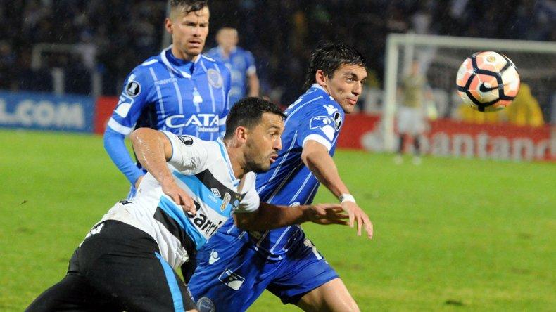 Godoy Cruz fue sorprendido en el arranque del partido y no pudo recuperarse.