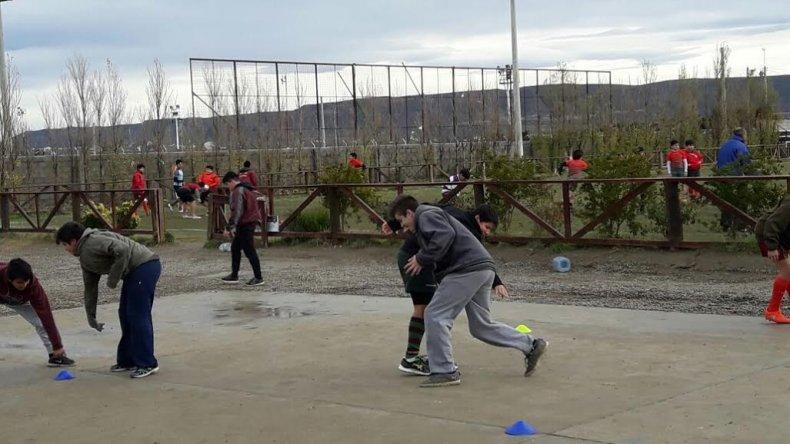 Los chicos de Abel Amaya tuvieron su última práctica de Probá Rugby