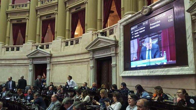 La Cámara de Diputados le dio media sanción y giró al Senado el proyecto de ley de Responsabilidad Penal Empresaria.