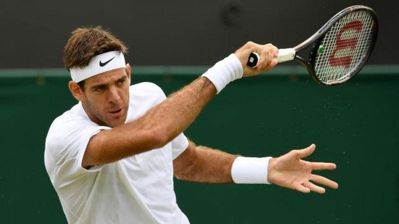 Del Potro tuvo una rápida despedida en Wimbledon