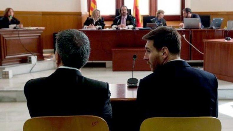 Messi paga una multa de 280 mil dólares para no ir a la cárcel