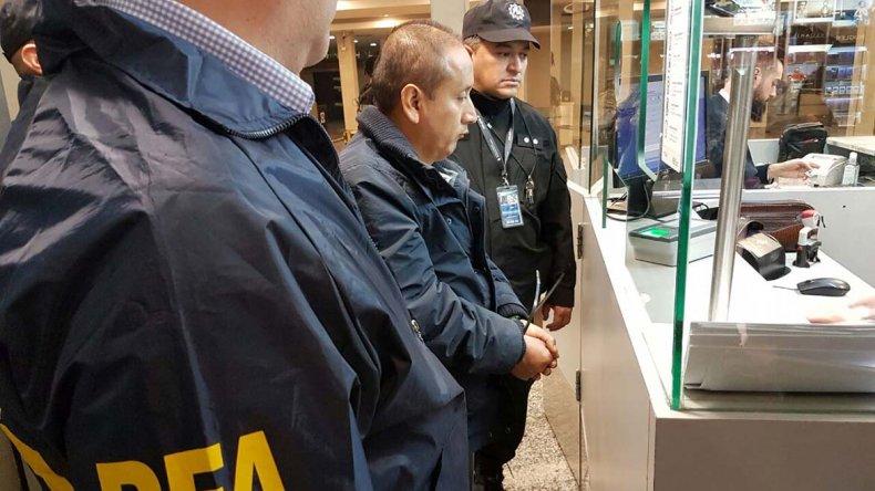 Se realizó un amplio operativo para extraditar al narco peruano.