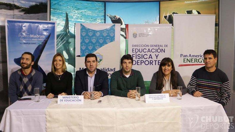 El acto del simposio deportivo se realizó ayer en la ciudad de Puerto Madryn.