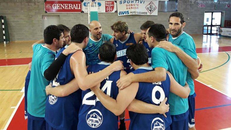 Los muchachos de Comodoro llegaron a la final en la categoría +35 y mañana irán por toda la gloria ante Estonia.