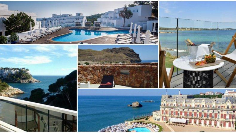 Top 5: hoteles al pie de la  playa en Europa