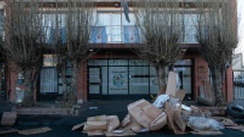 Desalojaron el Consejo Provincial de Educación en Río Gallegos