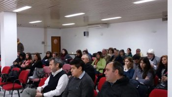 encuentro de trabajo con mas de 50 representantes del sector cientifico tecnologico
