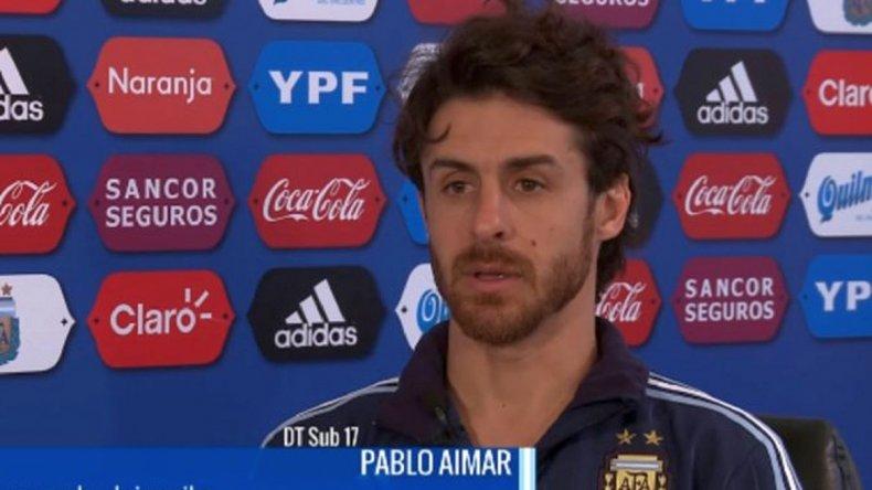 Pablo Aimar es el nuevo DT de la Selección Sub 17