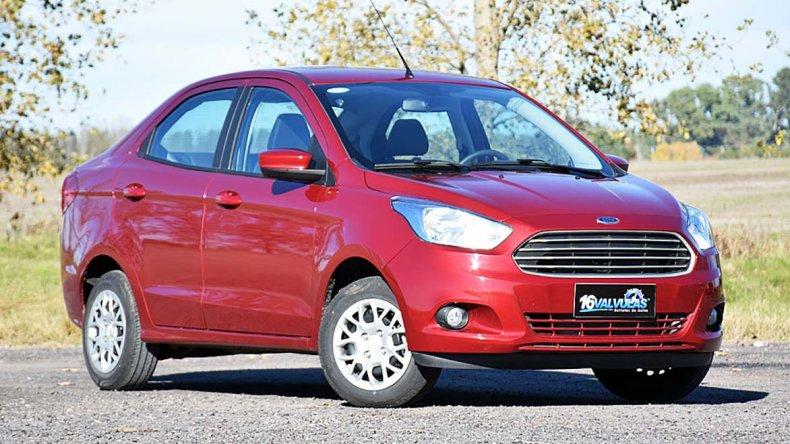 Prueba Ford Ka+ S