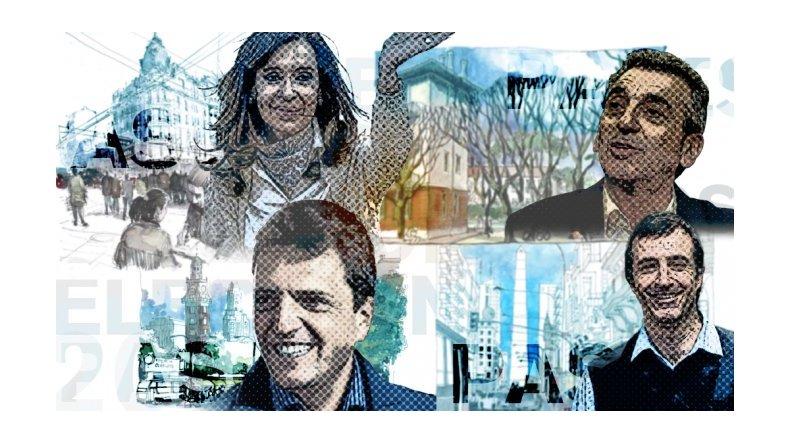 Arranca la campaña: qué harán este viernes los candidatos