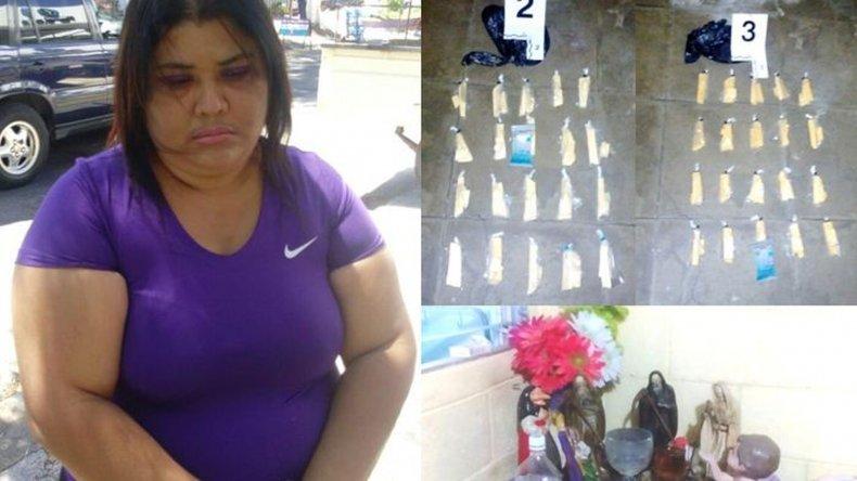 Detuvieron a la Narcobruja y a su novia La Pelo Duro