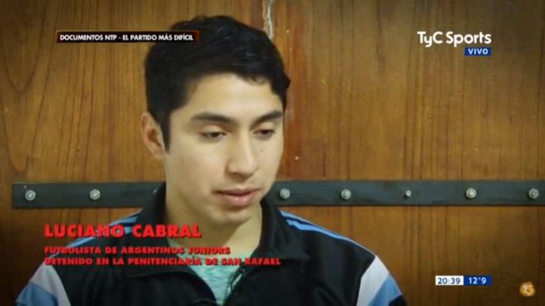 Luciano Cabral contó cómo es su vida en la cárcel
