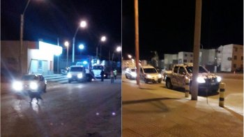 Fotos: Twitter Jefatura de Policia