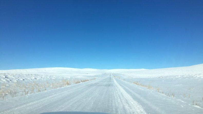 Más de la mitad del país con sensación térmica bajo cero