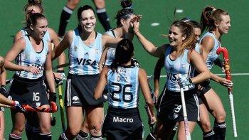 Argentina sigue firme en la Liga Mundial de Hóckey y cada vez está más cerca de lograr el objetivo.