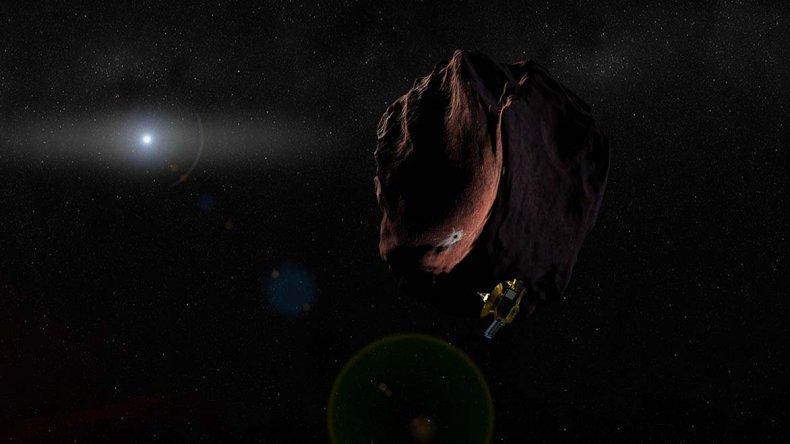 Los investigadores de la NASA y la CONEA realizaron con éxito la observación del MU69