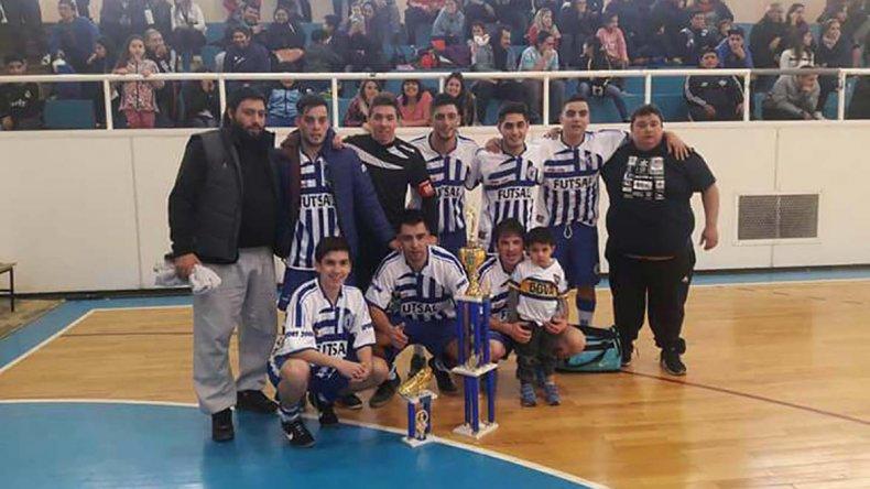 Futuros del Fuchs se consagró campeón en la categoría B3 del futsal de Comodoro Rivadavia.