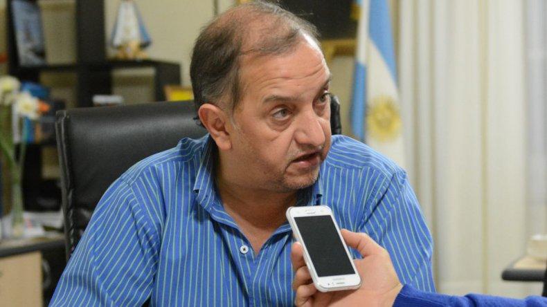 Linares aseguró que el retraso de obras es responsabilidad de Camuzzi