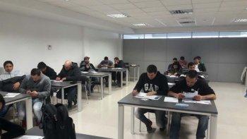 la sede caleta olivia del sindicato de petroleros jerarquicos vivio una activa primera quincena