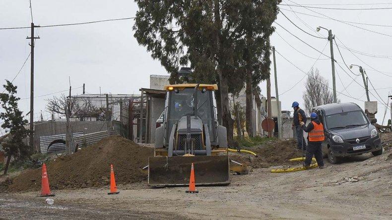 En los barrios donde las familias se calefaccionan con leña o electricidad