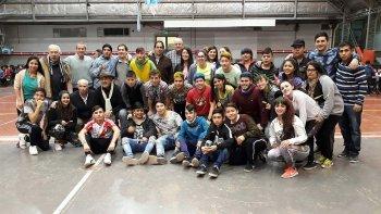Chicos de cinco barrios participaron de una nueva edición de Patio Abierto.