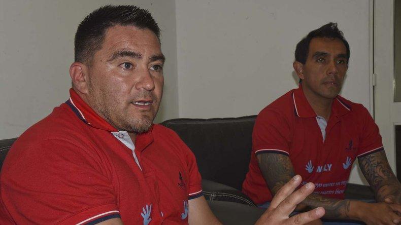 Fernando Pinto y Walter Vásquez organizan el seminario.
