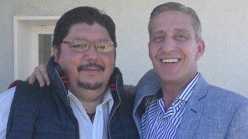 El delegado de la Zona Sur del Instituto Provincial de la Vivienda, Daniel Carrizo, valoró la precandidatura a diputado nacional del vicegobernador Mariano Arcioni.