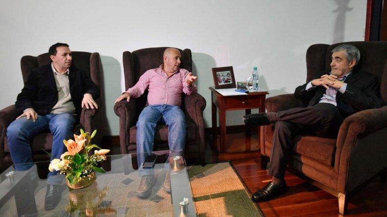 Das Neves se reunió con Sastre y Maderna