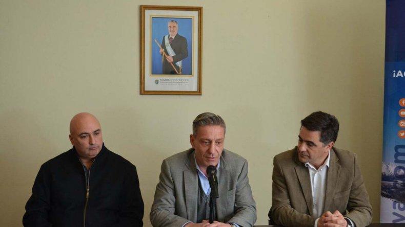 Arcioni destacó el trabajo que se hace en la institución de Comodoro.