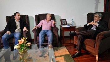 Das Neves, Sastre y Maderna buscaron acordar los ejes de campaña para las elecciones que se realizarán dentro de 23 días.